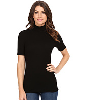 Three Dots - Cleo - Short Sleeve Turtleneck