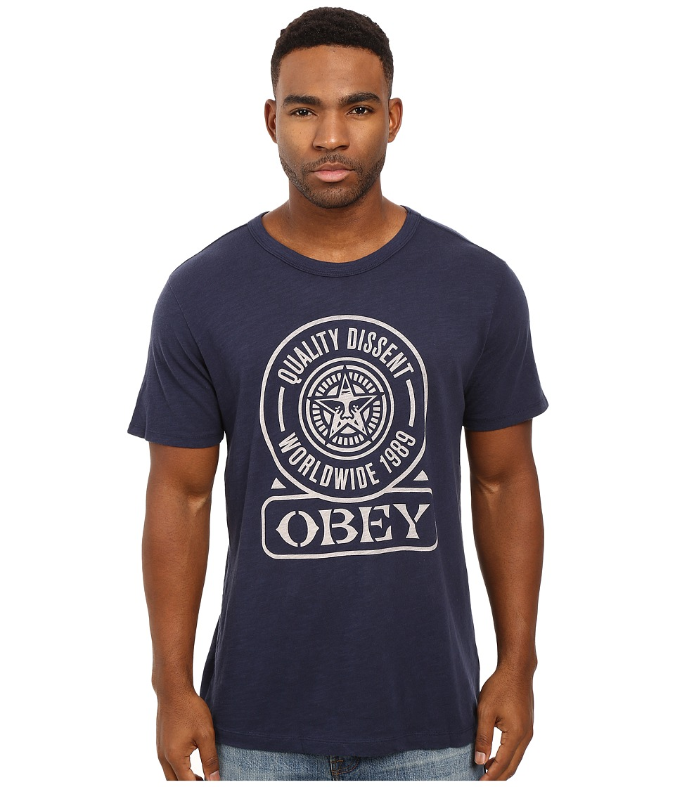 Obey - Obey Quality Dissent (Navy) Men
