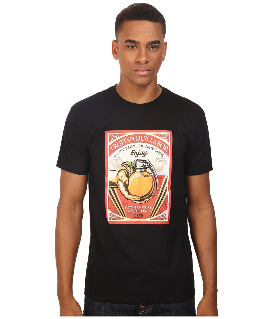 Obey - Fruits of Our Labor (Black) Men