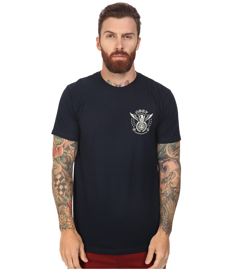 Obey - Peace Justice Eagle (Navy) Men