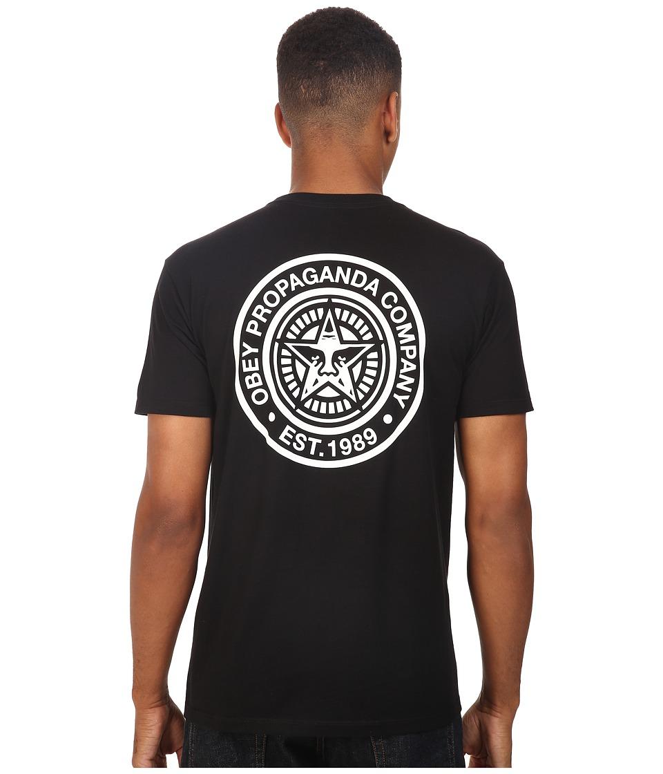 Obey - Obey Propaganda Company (Black) Men