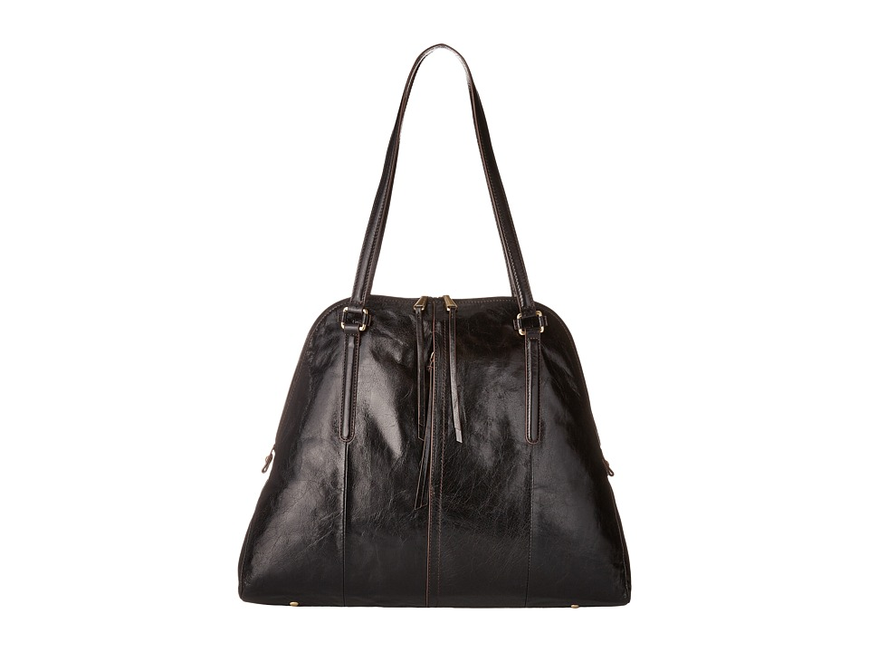 Hobo - Delaney (Black) Handbags