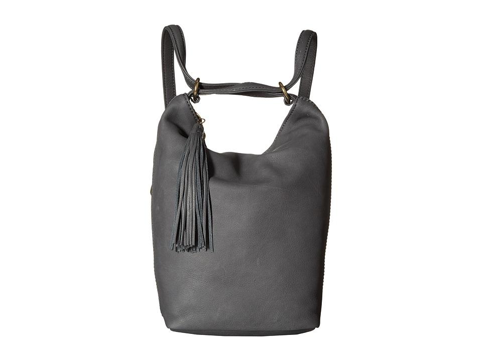 Hobo - Blaze (Pewter) Shoulder Handbags