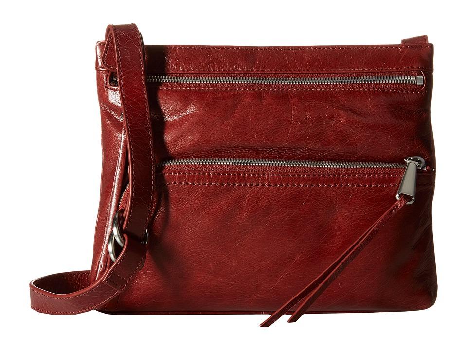 Hobo - Cassie (Mahogany) Cross Body Handbags