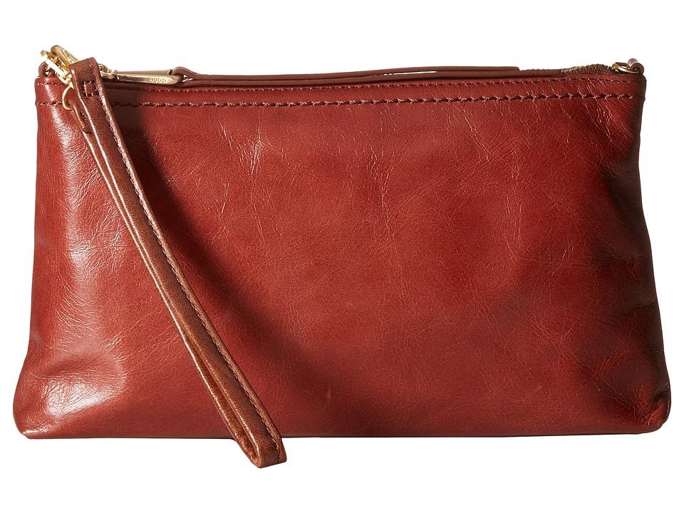 Hobo - Darcy (Mahogany) Cross Body Handbags