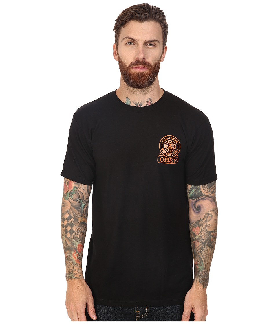 Obey - Obey Quality Dissent (Black) Men