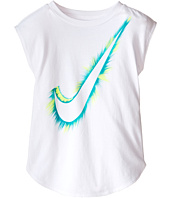 Nike Kids - Burst Swoosh™ Modern Short Sleeve Tee (Toddler)