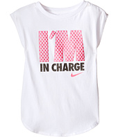Nike Kids - I'm in Charge Modern Short Sleeve Tee (Toddler)