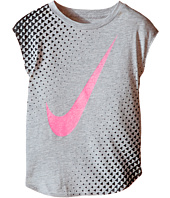 Nike Kids - Tri Halftone Swoosh™ Short Sleeve Tee (Little Kids)
