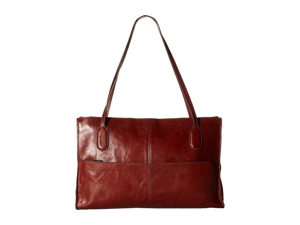 Hobo - Friar (Mahogany) Shoulder Handbags