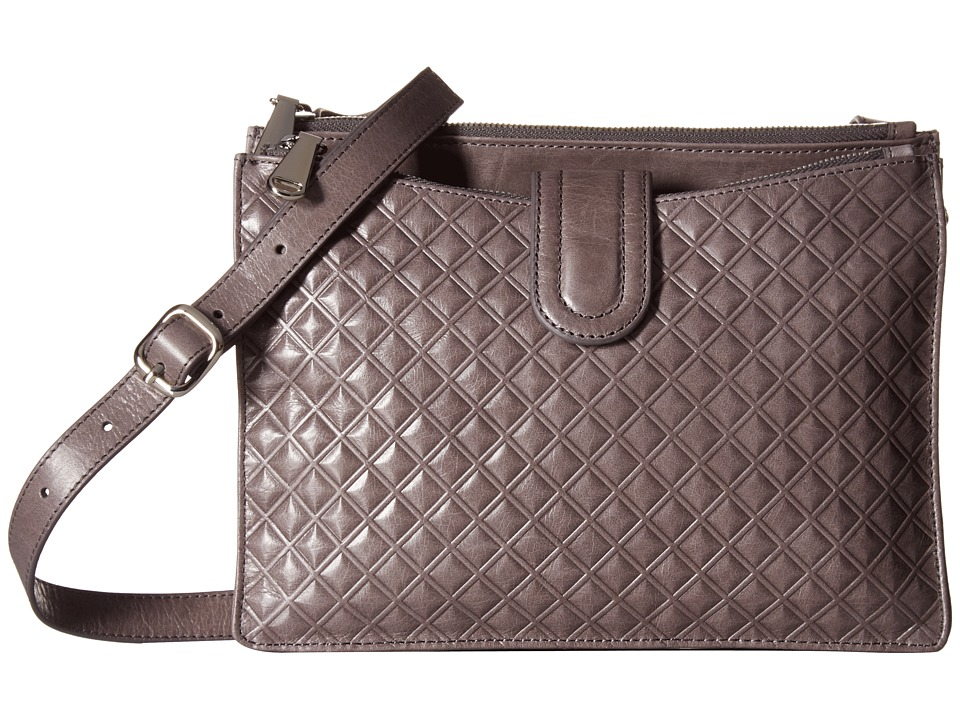 Hobo - Goldie (Diamond Embossed Granite) Cross Body Handbags