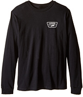 Vans Kids - Full Patch Back Long Sleeve Tee (Big Kids)