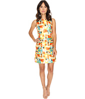 Tahari by ASL - Paint Print Sleeveless Shift Dress