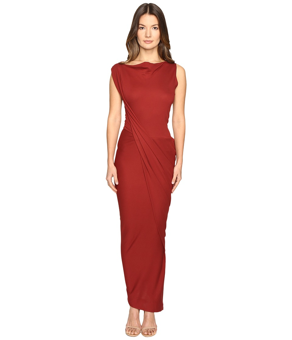 Vivienne Westwood Vian Dress (Oxblood) Women