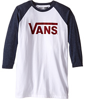 Vans Kids - Vans Classic 3/4 Sleeve Raglan (Big Kids)