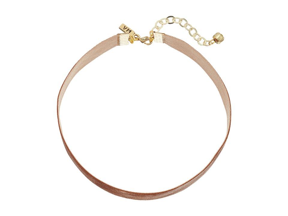 Vanessa Mooney - 1/2 Velvet Choker Necklace