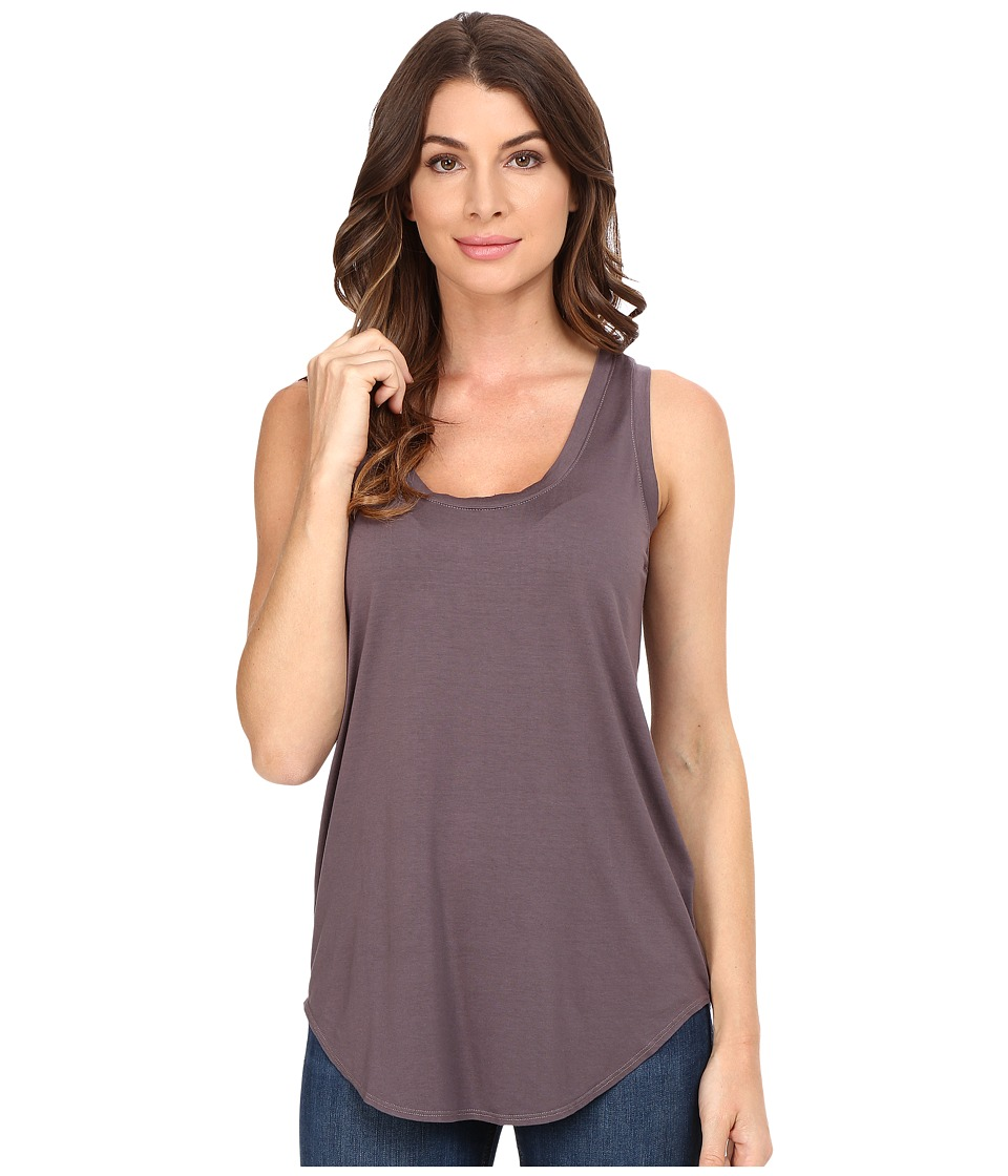 Three Dots - Lightweight Viscose Long Tank (Stardust) Women