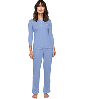 LAUREN Ralph Lauren - Rib Knit 3/4 Sleeve Pajama