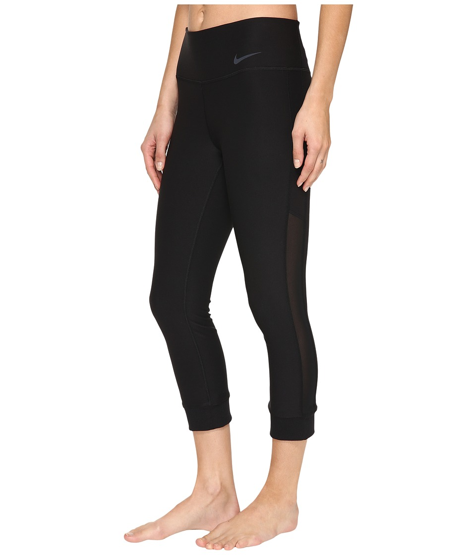 Nike Power Legend Veneer Training Capri (Black/Cool Grey) Women
