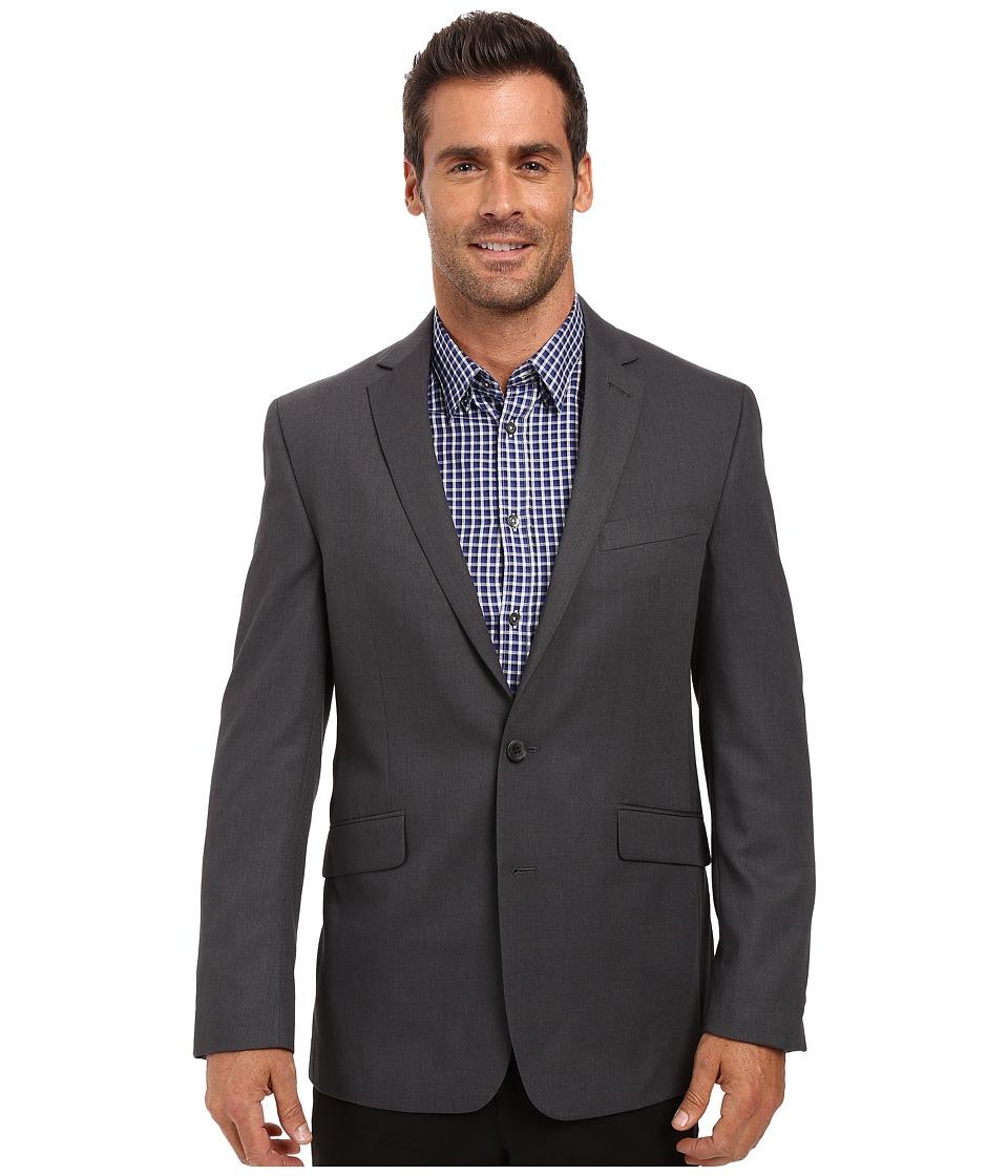 Kenneth Cole Reaction - Slim Fit Separate Coat (Grey) Men...