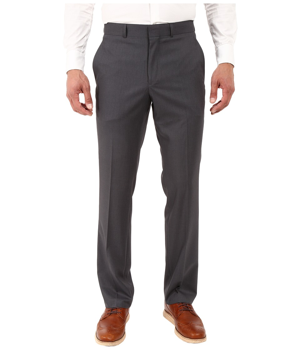Kenneth Cole Reaction - Slim Fit Separate Pants (Grey) Me...