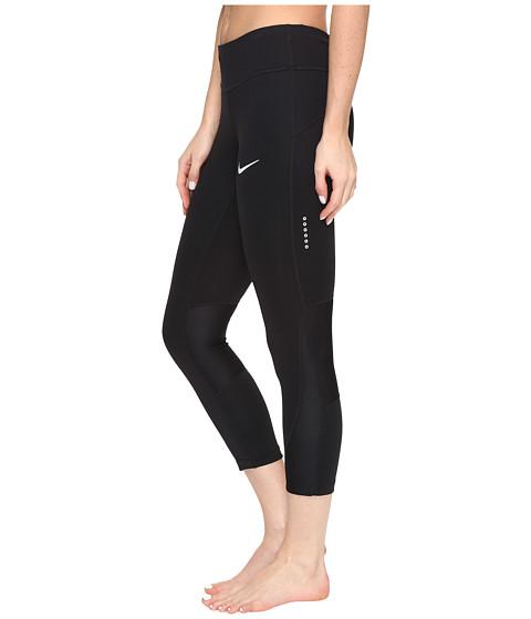 Nike Power Running Crop - Black/Black