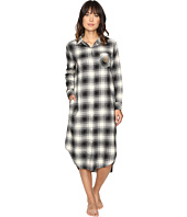 LAUREN Ralph Lauren - Brushed Twill Long Sleepshirt