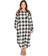LAUREN Ralph Lauren - Plus Size Brushed Twill Long Sleepshirt