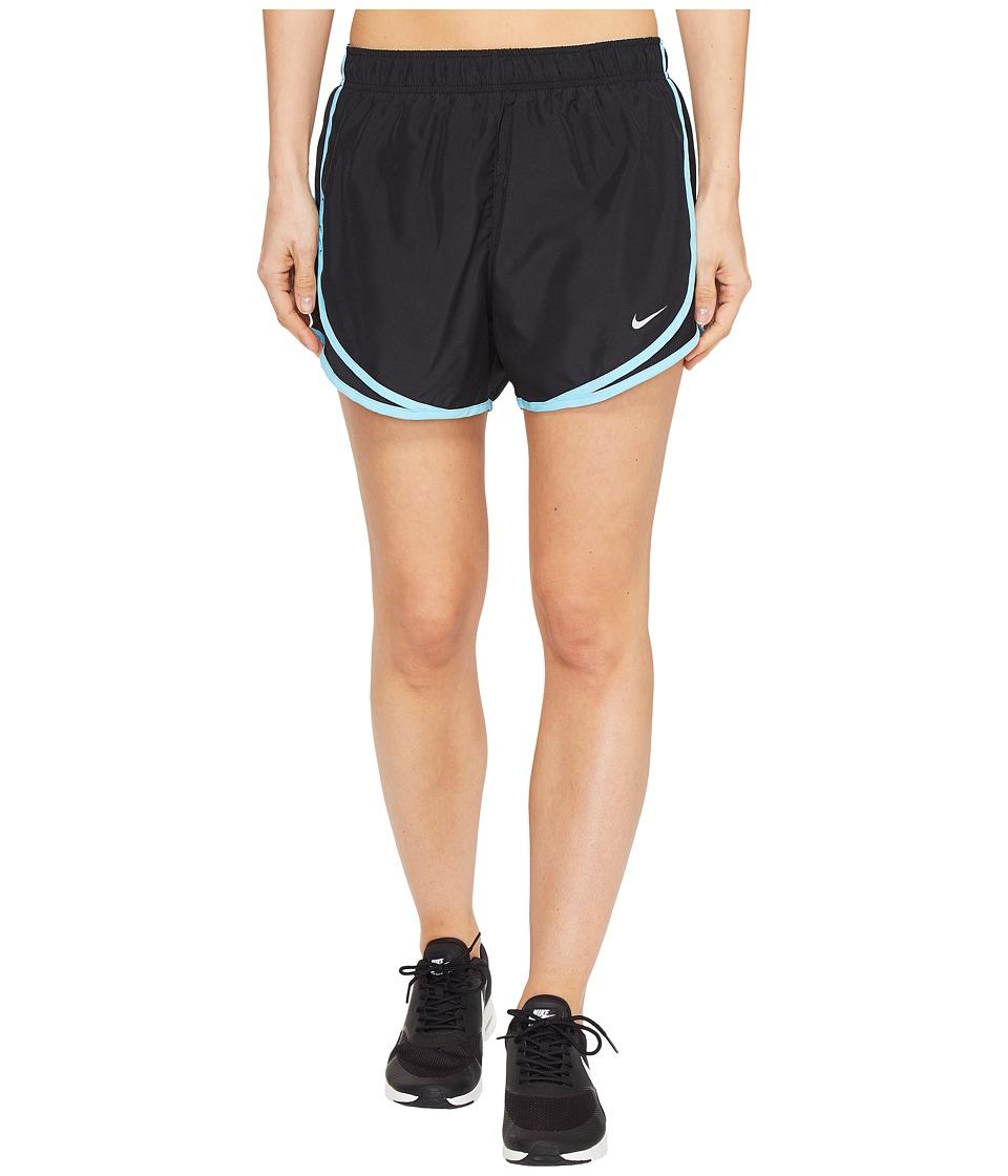 Nike Dry Tempo Short (Black/Black/Vivid Sky/Wolf Grey) Women