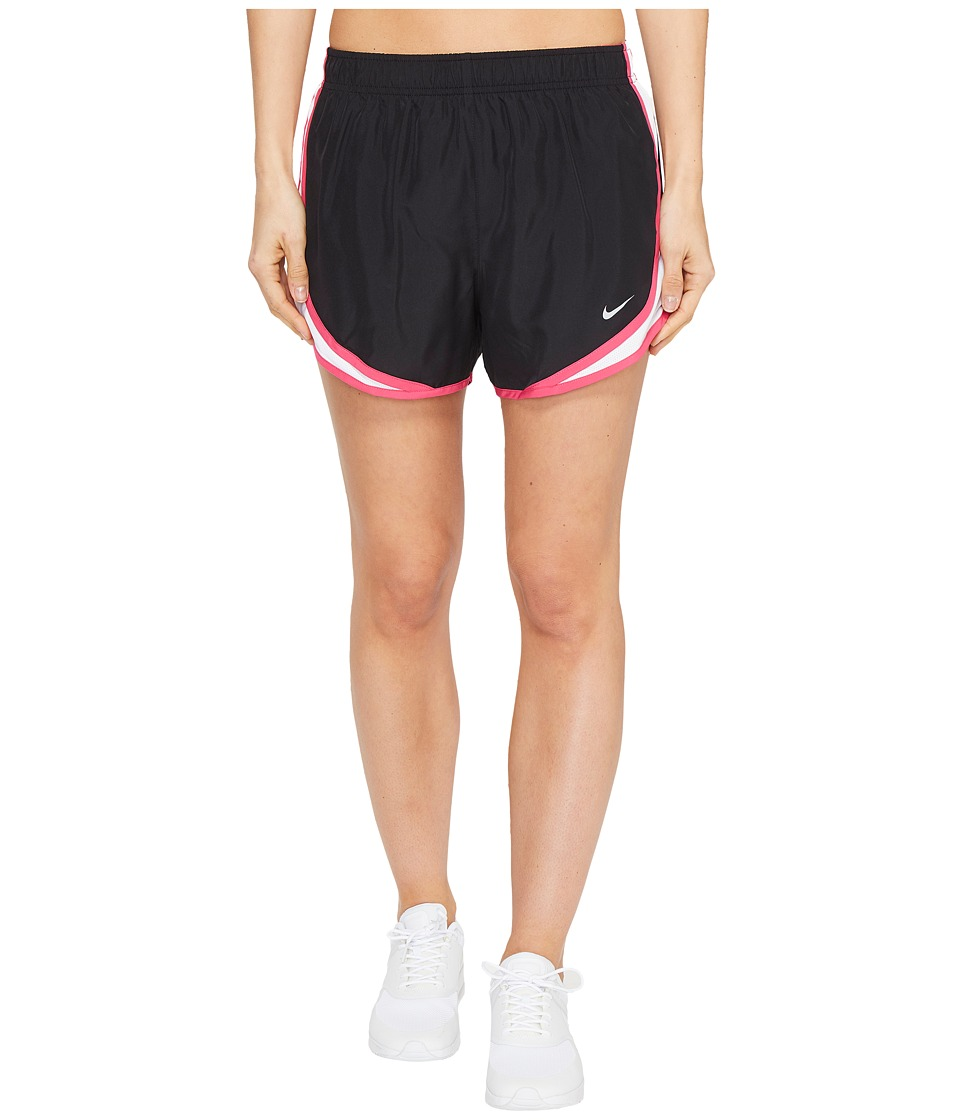 Nike Dry Tempo Short (Black/White/Vivid Pink/Wolf Grey) Women
