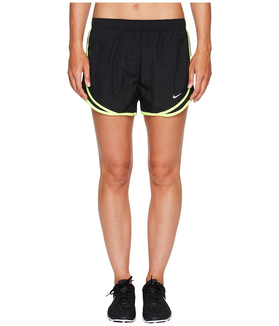 Nike Dry Tempo Short (Black/Black/Volt) Women