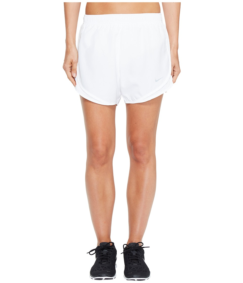 Nike Dry Tempo Short (White/White/White/Wolf Grey) Women