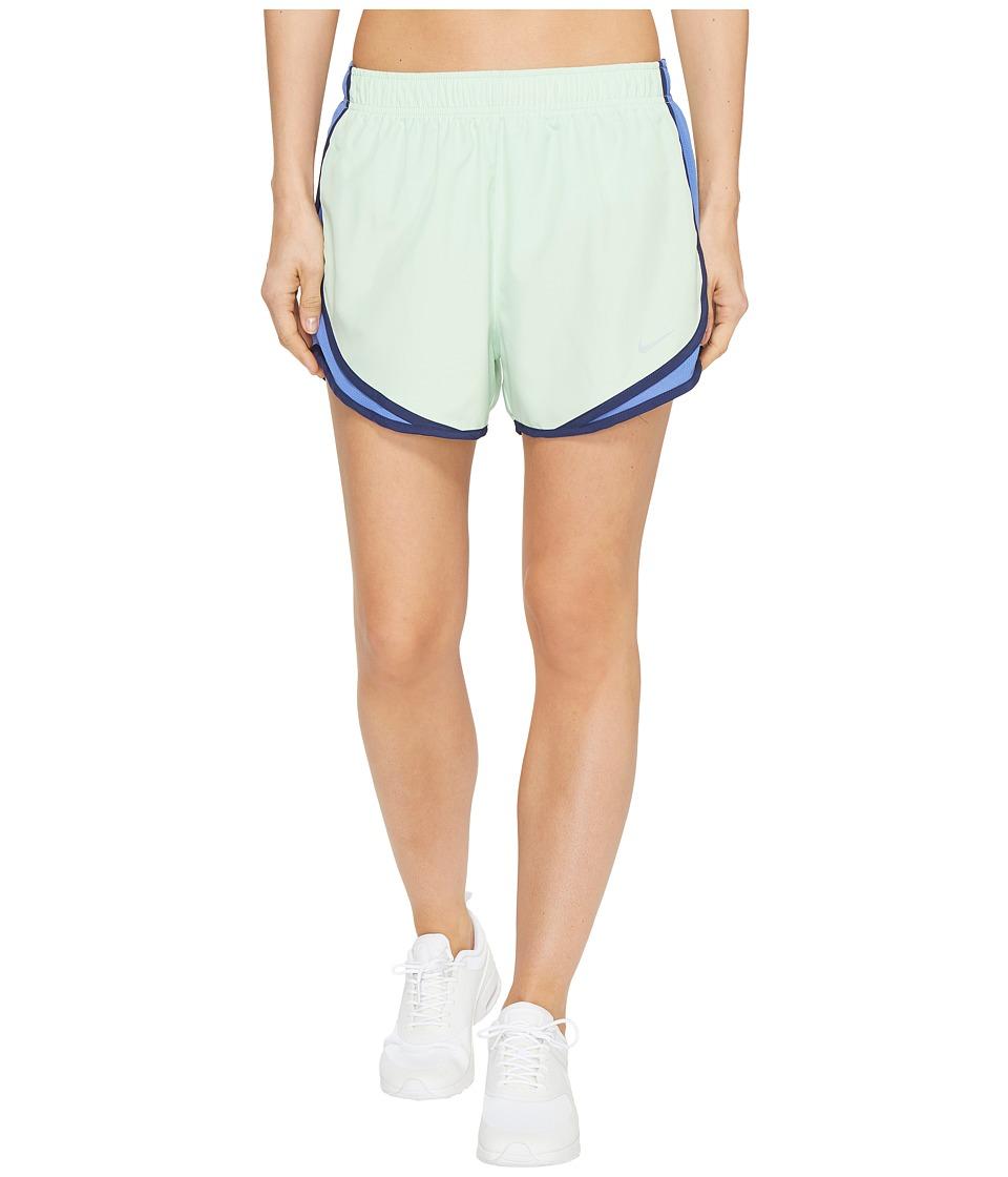 Nike Dry Tempo Short (Fresh Mint/Comet Blue/Wolf Grey) Women