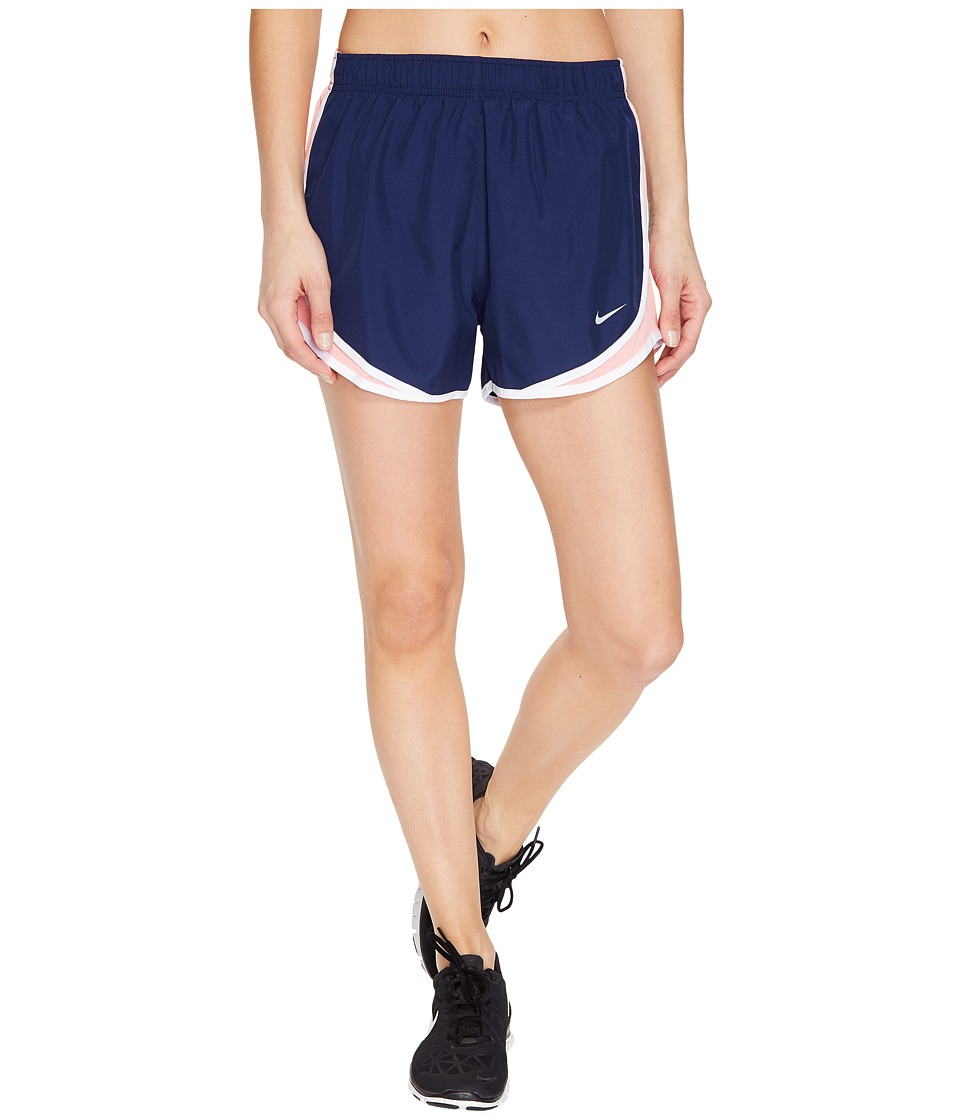 Nike Dry Tempo Short (Binary Blue/Bright Melon/White/Wolf Grey) Women