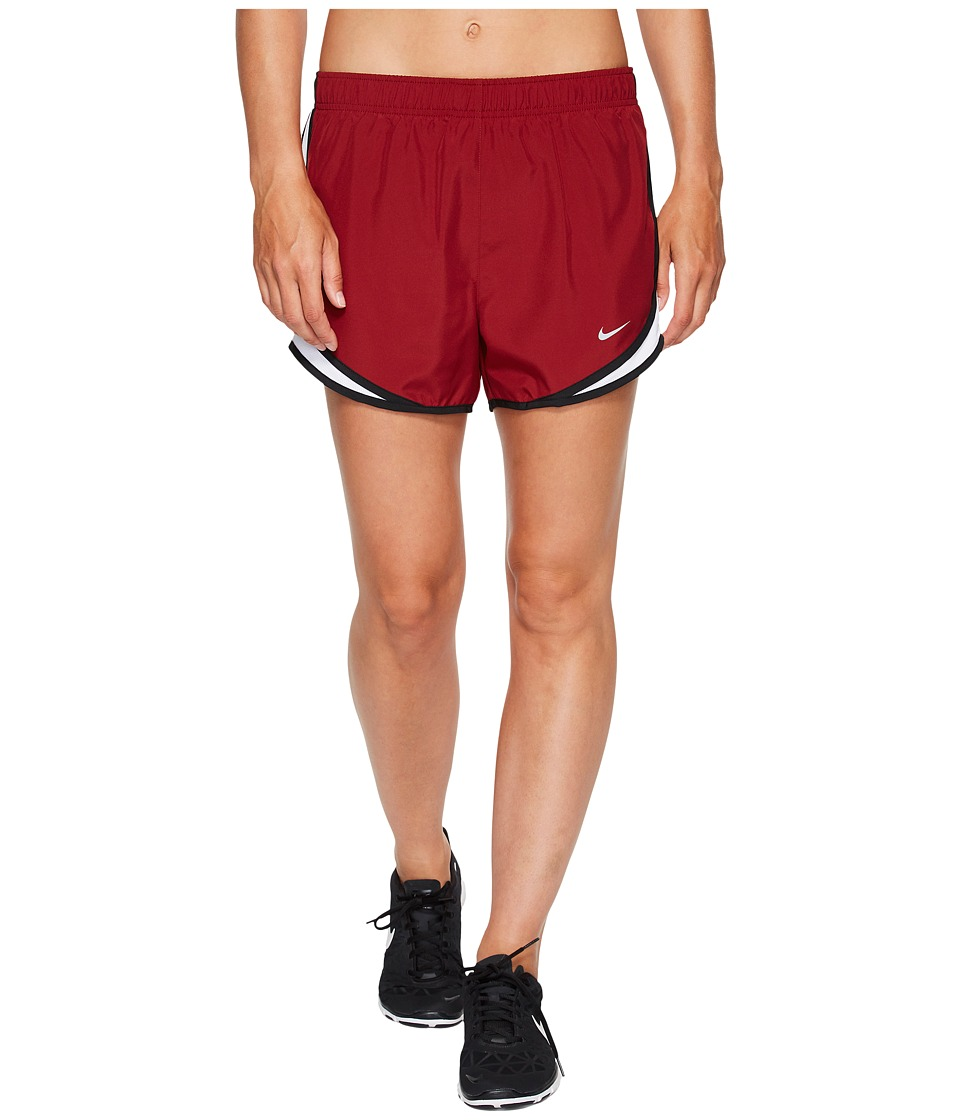 Nike Dry Tempo Short (Team Red/White/Black/Wolf Grey) Women