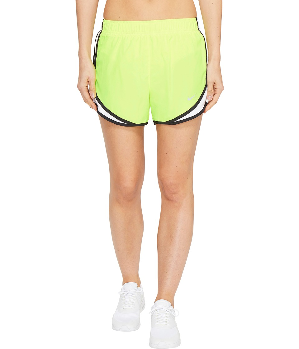 Nike Dry Tempo Short (Volt/White/Black/Wolf Grey) Women