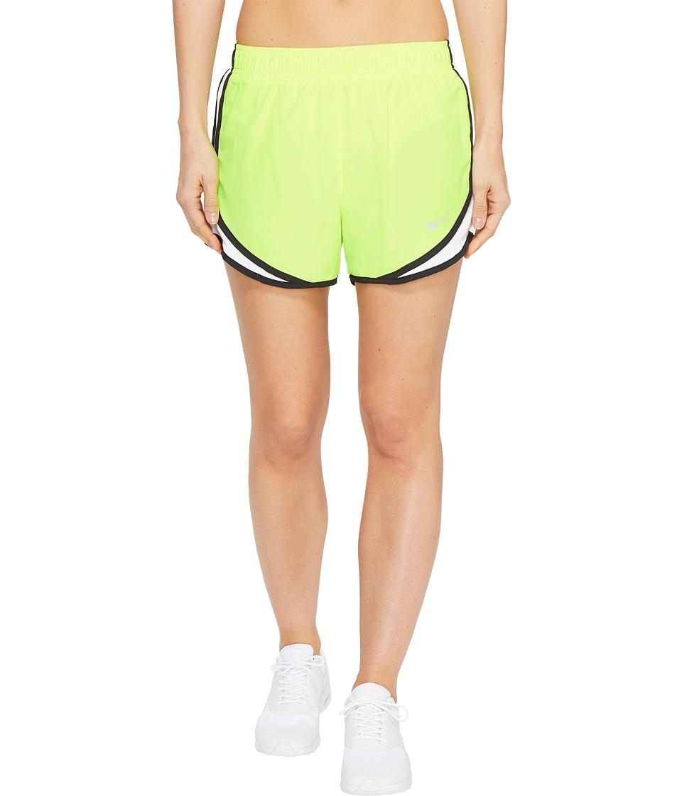 Nike Dry Tempo Short (Volt/White/Black/Wolf Grey) Women