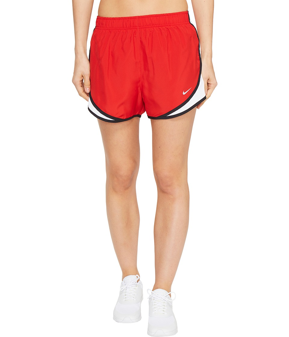 Nike Dry Tempo Short (Sport Red/White/Black/Wolf Grey) Women