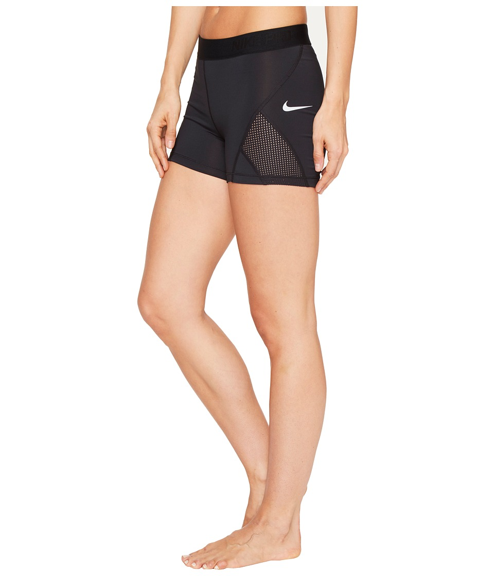 Nike Pro Hypercool 3 Training Short (Black/Pure Platinum) Women