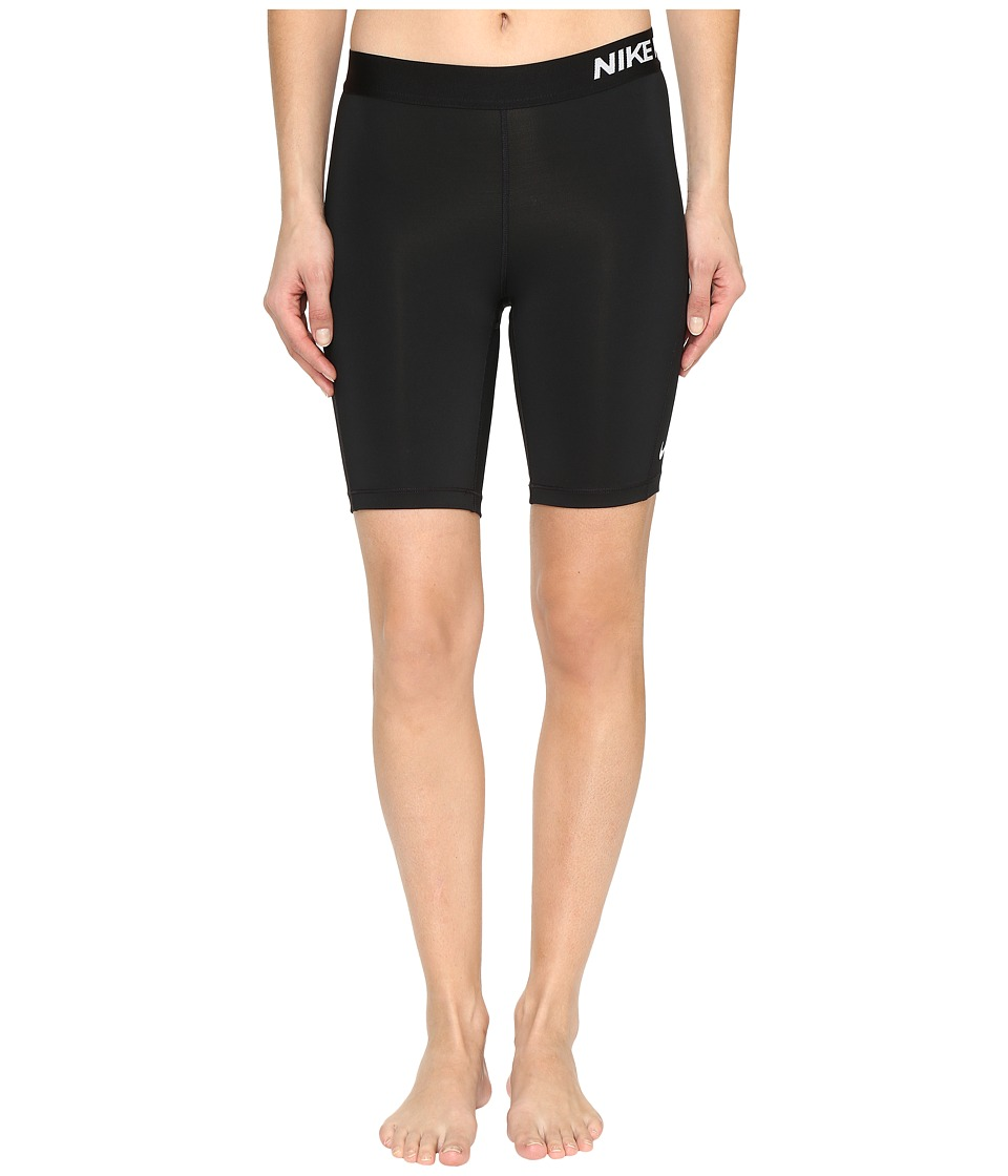 Nike Pro 8 Short (Black/White) Women