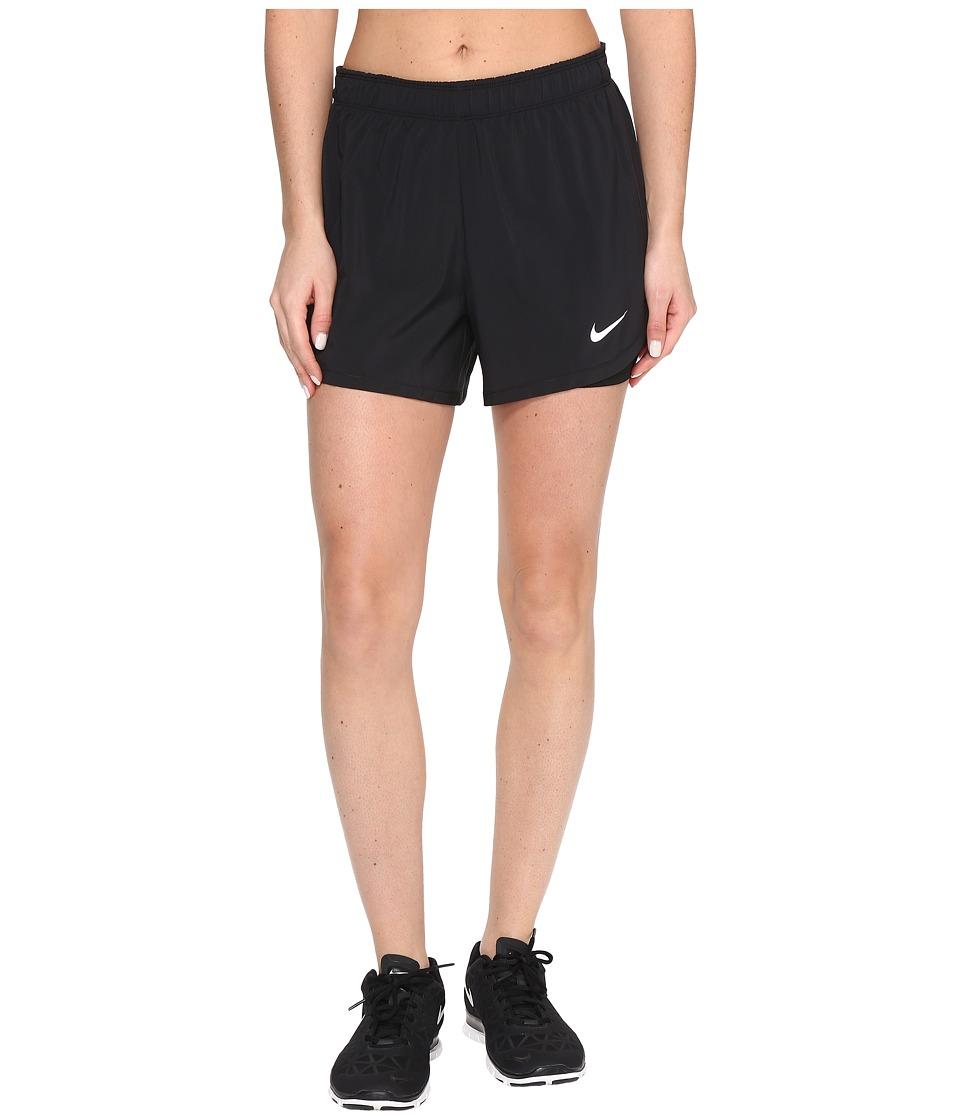 Nike Flex 2-in-1 Training Short (Black/Black/White) Women