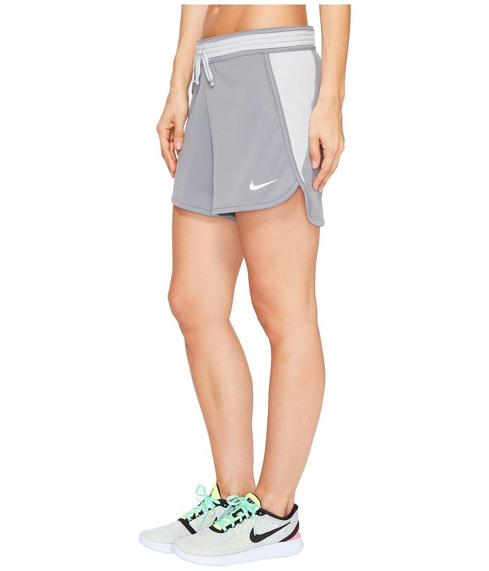 Nike Dry Infiknit Short (Cool Grey/Wolf Grey/Wolf Grey/White) Women