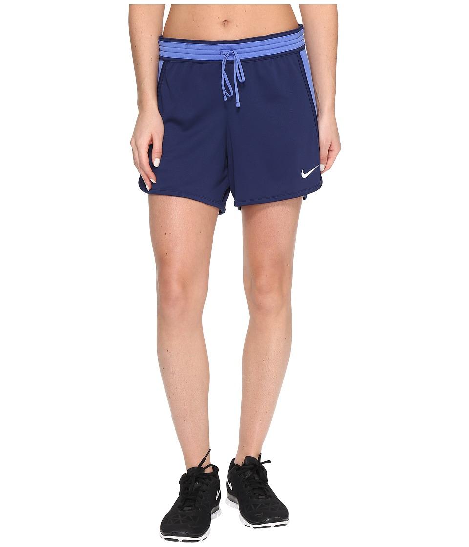 Nike Dry Infiknit Short (Binary Blue/Comet Blue/Comet Blue/White) Women