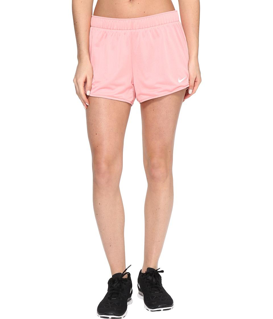 Nike Dry Jump Reversible Short (Bright Melon/Wolf Grey/White) Women