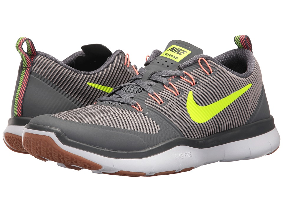 Nike Free Train Versatility (Dark Grey/Volt/Platinum Grey/Lava Glow) Men