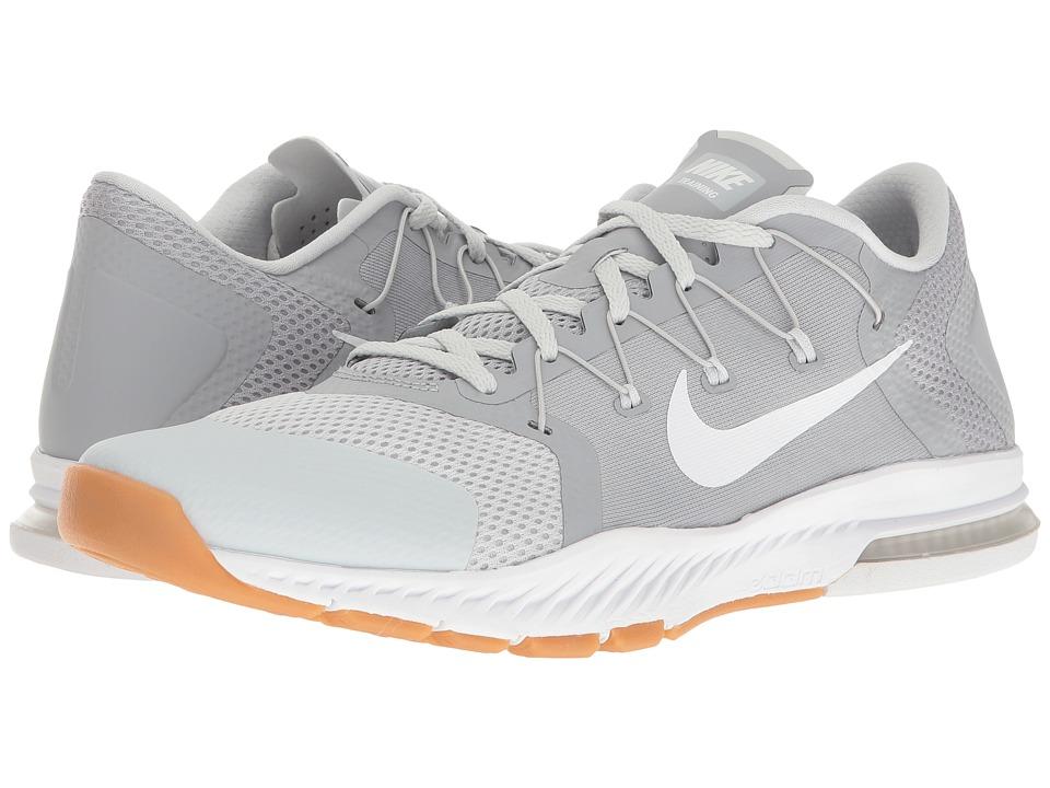 Nike Zoom Train Complete (Wolf Grey/White/Pure Platinum/Gum Medium Brown) Men