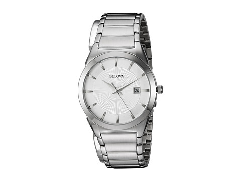 Bulova Classic - 96B015 - Silver White/Stainless Steel