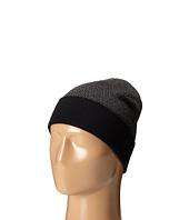 Cole Haan - Fine Gauge Pattern Jacquard Knit Cuff Hat
