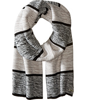 Cole Haan - Wide Marl Stripe Muffler