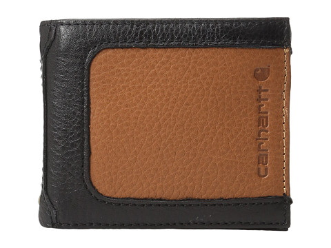 Carhartt Black & Tan Billfold Wallet - Black/Tan